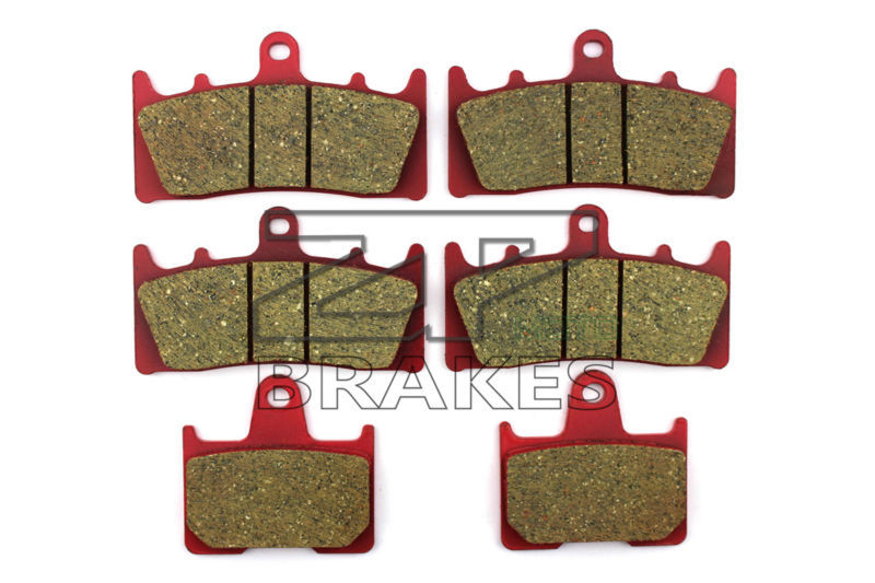 Brake Pads Ceramic For Front + Rear SUZUKI GSX 1400 K1/K2/K3/K4/K5/K6/K7/FE 2001-2007 OEM New High Quality ZPMOTO k