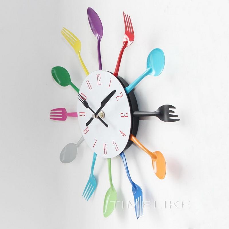 Σχεδιασμός μαχαιροποιίας Ρολόι - Διακόσμηση σπιτιού - Φωτογραφία 2