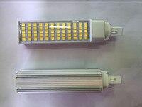 2 STÜCKE 12 Watt E27 G24 FÜHRTE Maisbirne Lampe Bombillas Licht Scheinwerfer AC85-265V Horizontal Stecker Licht warm white Energy saving