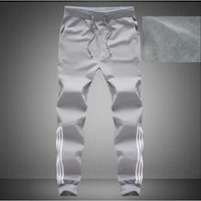 Men's Casual winter warm fashion fleece thick pants sweatpants pantalon homme sarouel Harem pants men Trousers male 3XL 4XL 5XL