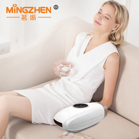 MZ Electric Vibration Massager Acupressure Palm Hand Massager Protector hot compress Hand Care Relax Tools Dual Use Home Car