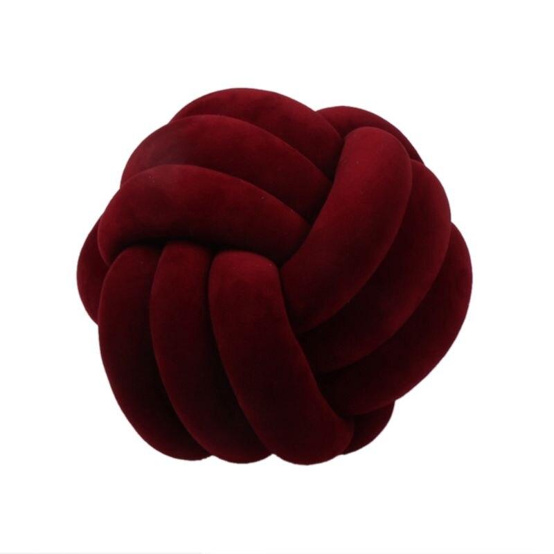 HTB1nByjXUY1gK0jSZFCq6AwqXXaT Soft Knot Ball Cushions Bed Stuffed Pillow Home Decor Cushion Ball Plush Throw
