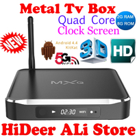 Newest 2016 Original MXQ M10 Android 4.4 kitkat Quad Core Kodi TV Box Amlogic S812 Cortex A9 2.0GHZ 4K/3D/1080P Mali-450MPWiFi