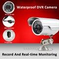 Envío libre cámara impermeable del cctv cámara de vídeo cámara de la bala al aire libre todo-en-un sistema de visión nocturna de la ayuda 32g tarjeta sd micro