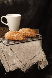 Image 1 - נוסטלגי סגנון פשתן בד צילום רקע אביזרי עבור פירות מזון שולחן ירי סטודיו צילום רקע קישוטים