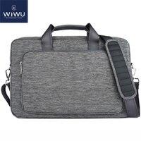 WIWU Caso Laptop para Dell/Acer/Asus/Sony Lenovo 14 Bolsa para Laptop de 15 À Prova D' Água dos homens Sacos de Nylon Notebook Computador Portátil 17