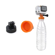 Sports Camera Monopod Surfing Mount Adapter Tripod Water Bottle Connector for GoPro Xiaomi Yi Gopro Hero 4 3 3+ Sjcam Sj4000 miniisw m hp universal camera mount adapter for gopro hero 4 3 3 hero 2 hero sj4000 black