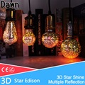 LED Lamp Light Bulb E27 3D Decoration Bulb 110V 220V 240V Holiday Lights A60 ST64 G80 G95 Novelty Lamp Christmas Decoration