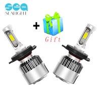 H4 H7 LED H11 H8 H9 H1 9006 HB4 Headlight Car COB Lamp 6500K 12V 72W