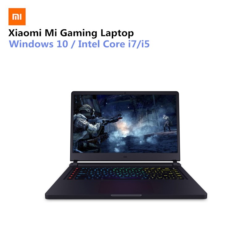 Xiaomi Mi Gaming Laptop 15.6'' WIN10 Intel Core I7-7700HQ Quad Core 16GB RAM 256GB SSD + 1TB HDD GTX1060 Dedicated Graphics Card