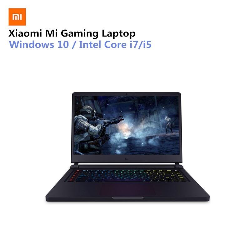 Xiao mi mi Ga mi ng Ordinateur Portable 15.6 ''WIN10 Intel Core I7-7700HQ Quad Core 16 gb RAM 256 gb SSD + 1 tb HDD GTX1060 Dédié Carte Graphique