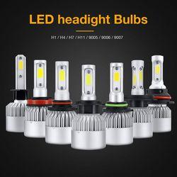 Kit de faros LED para coche de 2 piezas, 100W 16000LM H1 H4 H7, Kit de faros LED kit de 6000k 12V Auto para Auto G5 estilo de coche