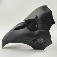 Crow Reaper Nevermore Skin Black Masks Reaper Plague Doctor Mask Birds Long Nose Punk Crow Retro Rock Cool OW PVC Type Punk Mask