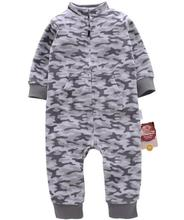 2017 Baby clothes bebes jumpsuit collar fleece newborn pajamas infants baby boys clothes toddler boys clothes coveralls outwear