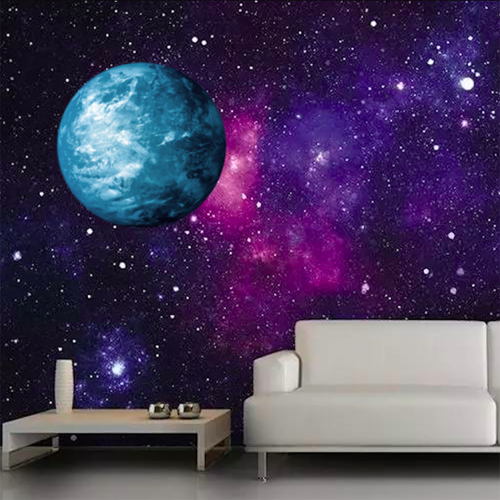 popular earth decals buy cheap earth decals lots from china earth 2017 50cm 19 6 in large illuminanting glowing earth planet magic decor home night lighting decal sticker
