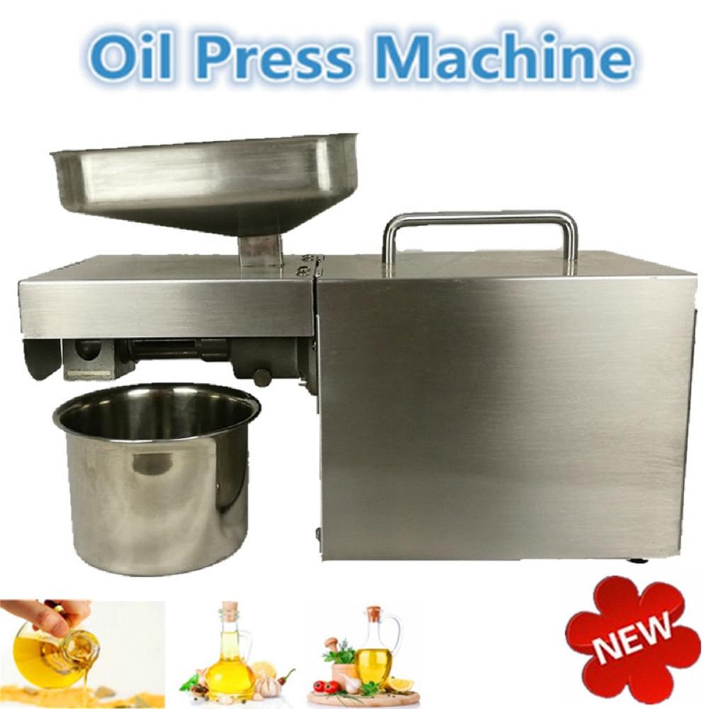 Automatic High quality oil press machine/cold oil press machine/seed oil extraction machine high quality best price cold press oil seed extracting machine