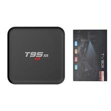 T95M 1GB 8GB tv box Amlogic S905X 2.4GHz WIFI Android 6.0 Quad Core Streaming Smart Set-top Media Player цена и фото