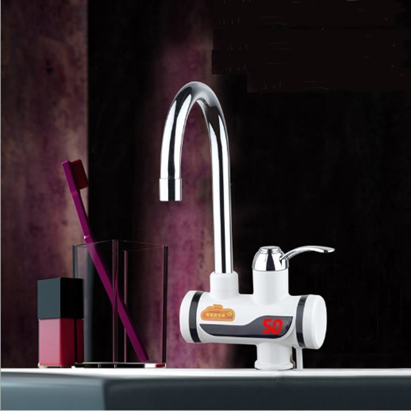 BD3000W-3,Tankless Electric Faucet,Kitchen Faucet Water Heater,with EU Plug,fast Electric Heating Water Tap