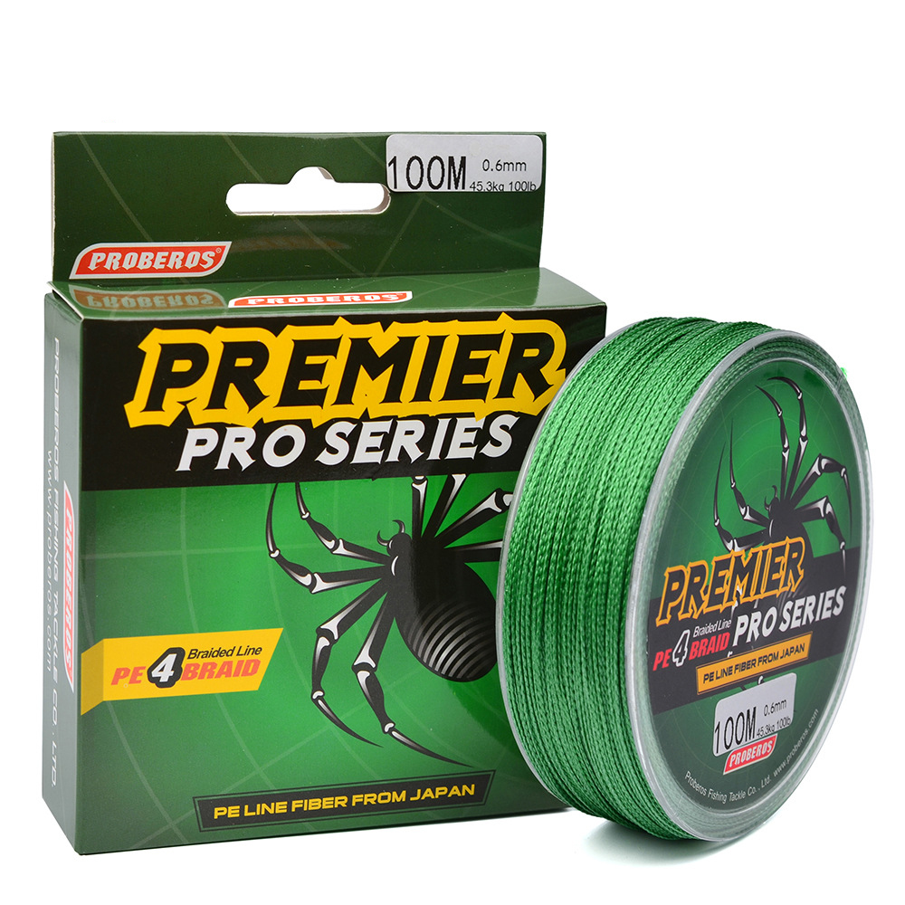 YUYU Quality 100M PE <font><b>Braided</b></font> <font><b>Fishing</b></font> <font><b>Line</b></font> 4 Strand <font><b>6lb</b></font> - 100LB Multifilament <font><b>Fishing</b></font> <font><b>Line</b></font> for Carp <font><b>Fishing</b></font> Wire for All <font><b>Fishing</b></font> image