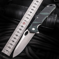 HX OUTDOORS Folding Newest Steel Folded pocketKnifeOutdoor Tactical Knife,Survival Knives Tools,EDC camping high hardness knives