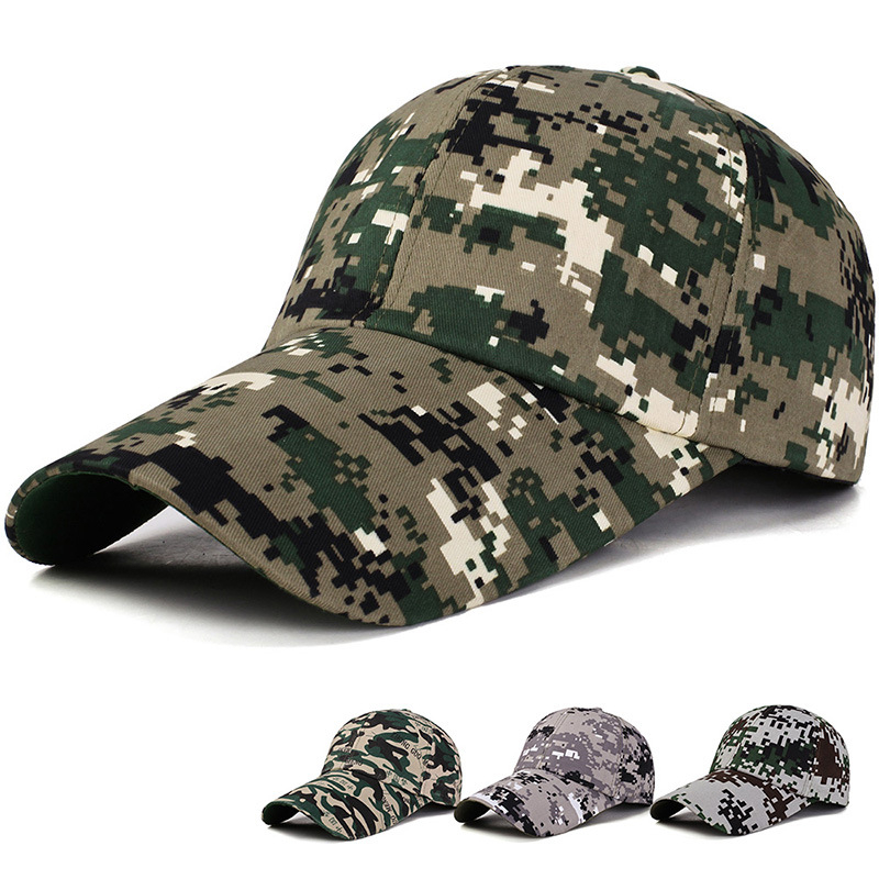 Camo Camouflage Military Hat Unisex Tactical Cap Snapback
