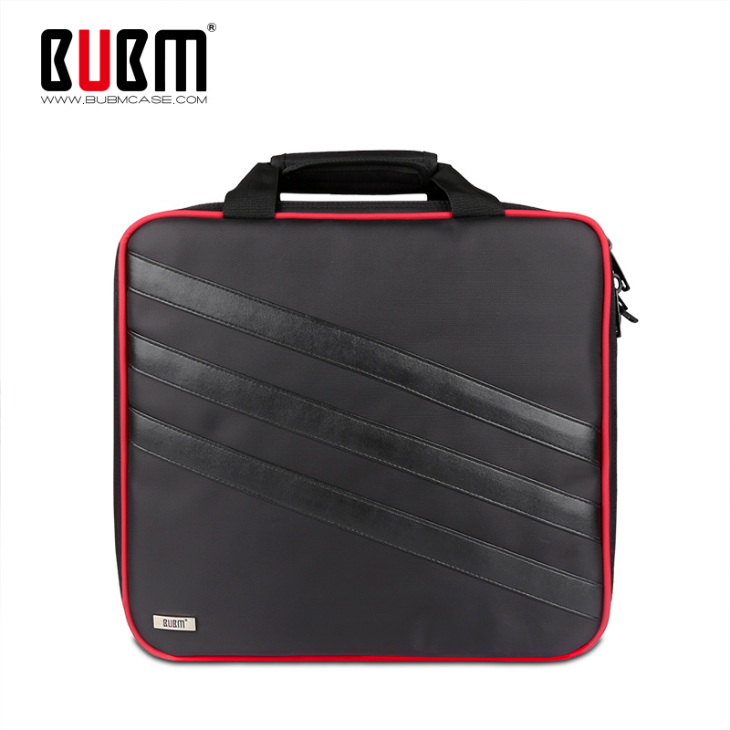 BUBM Large Capacity Carry Case Travel Organizer Bag Protector Case For SONY PS4 PRO Games Console