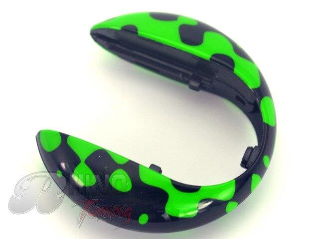 Высокое качество U образный ключи от машины крышка ярко зеленый ключи от машины хардтоп чехол для мини купер F55 f56-линия 244