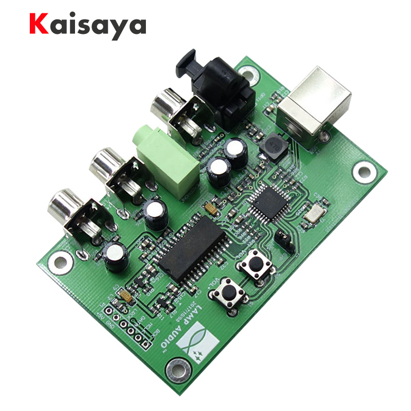 PCM2706 TDA1305 Digital interface USB To I2S/IIS / Optical Coaxial Output SPDIF HiFi DAC Decoder Board Amp Support OTG