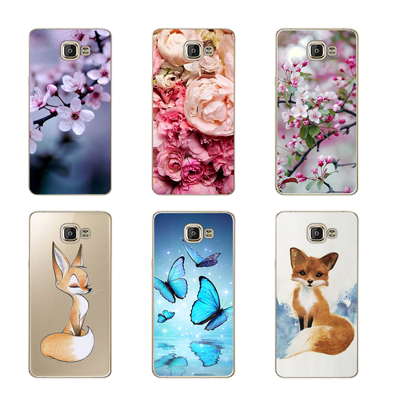 for Coque Samsung Galaxy A5 2016 Case Cover for Funda Samsung A5 2016 Case Silicon Cover TPU Soft for Protector Samsung A5 A510F image
