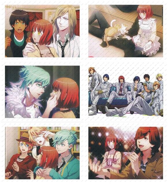 Uta no Prince-sama   White kraft poster  Poster wall sticker Japanese Anime Poster Decorative paintings