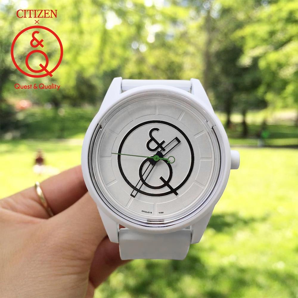 Citizen Q&Q watch men Set top Luxury Brand Waterproof Sport Quartz solar men Watch Neutral watch Relogio Masculino reloj 0J013Y