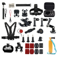 For Gopro Accessories Set Helmet Harness Chest Belt Head Mount Strap Monopod For Goro Hero 5
