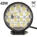 2017 LED вождения головная лампа 42 Вт LED Off-road Свет Работы Дальнего Света На Грузовик, Atv, Лодка, Добыча 42 Вт led
