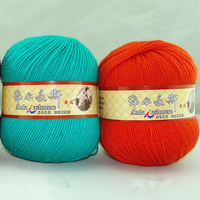 500g Hand Knitting Multicolor Wool Thick Yarn Soft Silk Fiber Cotton Yarns For Kids Eco Friendly