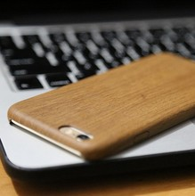 Wood Grain Style material back tpu+pc cover for smsung galaxy a3 a5 s6 s7 edge case for Apple iphone 5 5s 6 6 plus coque(China)