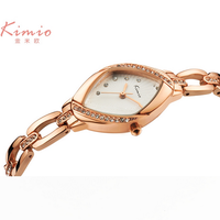 Kimio 2017 Luxury brand Women's Bracelet Watches dazzle beauty space ceramic girls quartz wrist female multifunction watch