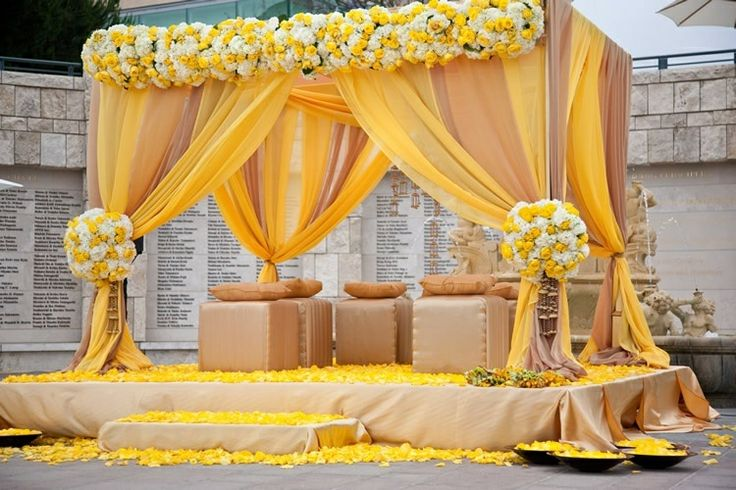 101010 yellow canopy drapery square canopy drapestainless steel pipewedding stage decoration romantic wedding curtain in party backdrops from home