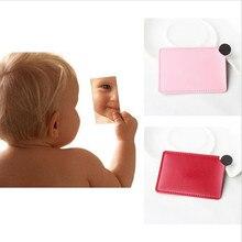 Заказной логотип небьющееся maquillaje портативное небьющееся косметическое зеркало из нержавеющей стали, зеркало для макияжа, подарок на день рождения