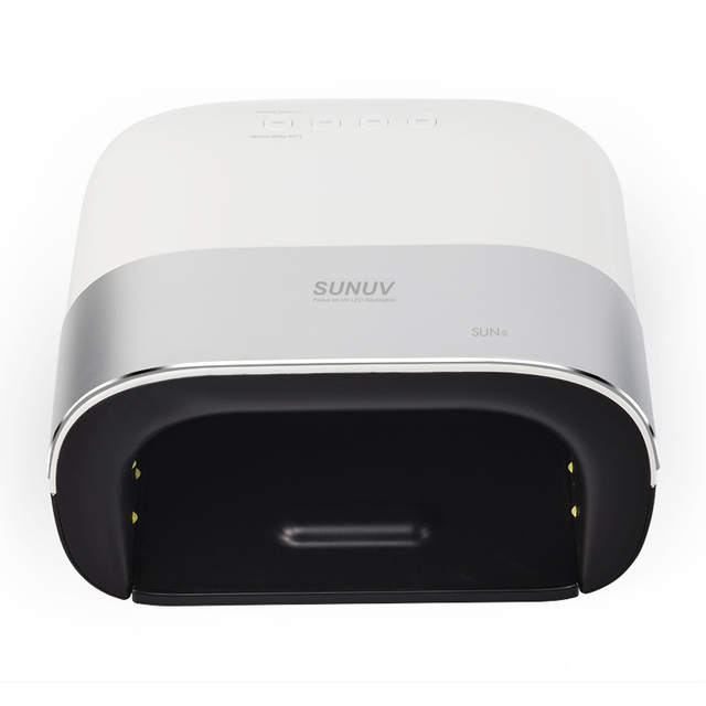 SUNUV SUN3 Nail Dryer Smart 2.0 48W UV LED Lamp Nail with Smart Timer Memory Invisible Digital Timer Display Nail Drying Machine