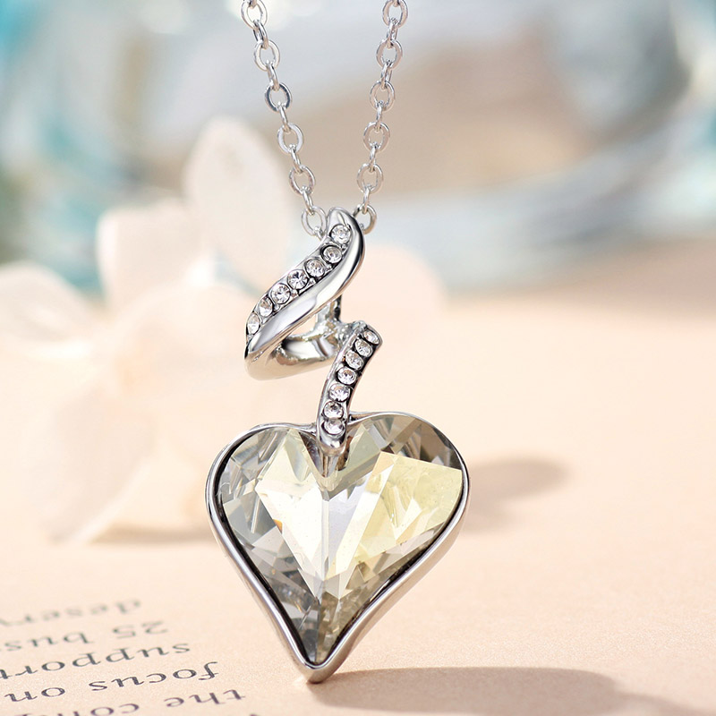 Neoglory Rhinestones de Cristal Austriaco de Cuatro Colores Corazón - Bisutería - foto 4
