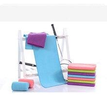 Фотография Microfiber sport towel quick drying running fitness Exercise towel bath towel Extra long shining color towel microfibra