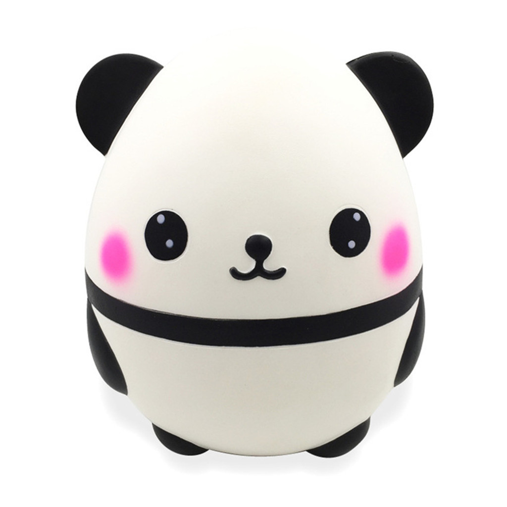 Jumbo Cute Panda Kawaii Cream Scented Squishies Slow Rising Kids Toys Do #F