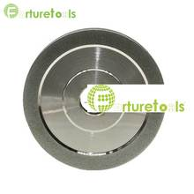 4 inch Diamond Coated grinding Wheel flat shape abrasive wheel for tungsten carbide sharpening E019  цена