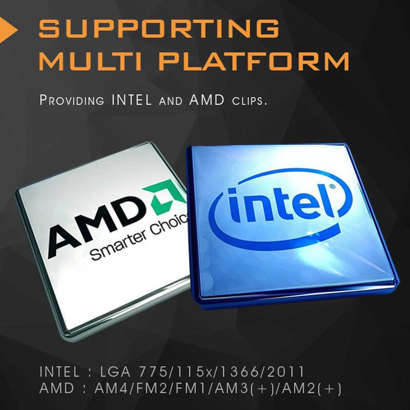 Chłodnica procesora Aigo ciecz 120mm Radiator cichy wentylator PWM obudowa komputera chłodnica wodna All-In-One chłodzenie procesora INTEL/AMD AM4 z obsługą