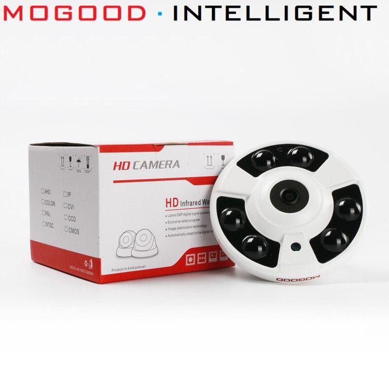 Mogood International รุ่น IP กล้อง 4MP Fisheye กล้องสนับสนุนไมโครโฟนในตัว ONVIF POE IR 10 M-ใน กล้องวงจรปิด จาก การรักษาความปลอดภัยและการป้องกัน บน AliExpress - 11.11_สิบเอ็ด สิบเอ็ดวันคนโสด 1