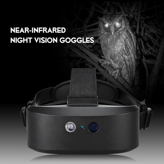 جديد في الهواء الطلق الرقمية نظارات الرؤية الليلية قناع عين جهاز من لوحظ في الظلام HD التصوير للصيد نطاق رئيس شنت 60 متر