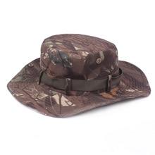 Mens Camouflage Camo Army Combat Bush Hat Fishing Military Cotton Boonie Cap HATCS0510