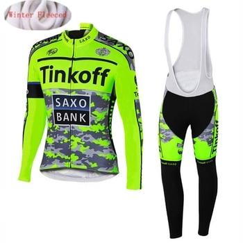 2019 nova tinkoff inverno velo térmico roupas de ciclismo nw terno camisa dos homens ao ar livre equitação bicicleta mtb roupas bib quente calças 1