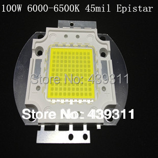 100W LED White/Warm White Integrated High power Lamp 3500mA 32-34V 11000-12000LM 45mil Epistar Chip Free shipping 100w led integrated high power lamp warm white white 3000ma 32 34v 8000 9000lm 30 30mil genesis chips free shipping