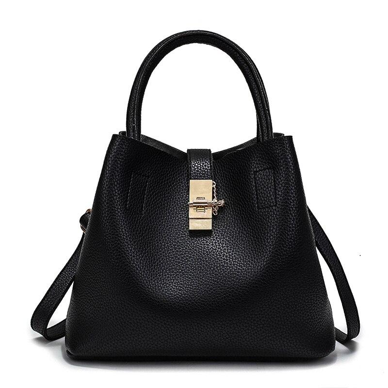 f0d63aae88d8 Новое ведро Для женщин Сумки кожаная сумка Для женщин Курьерские сумки Дамы  бренд конструкции сумки женские сумки + сумка